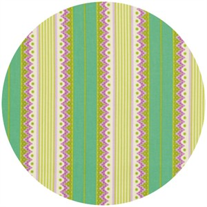 Heather Bailey, Lottie Da, Carousel Stripe Turquoise