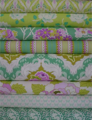 Heather Bailey, Lottie Da, Olive 7 FAT QUARTERS in Total