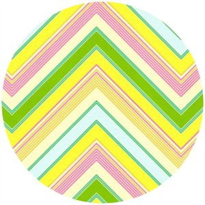Heather Bailey, Pop Garden, Zig Zag Stripe Yellow