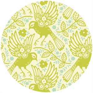 Heather Bailey, Up Parasol, Meadowlark Chartreuse