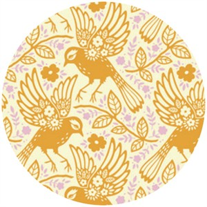 Heather Bailey, Up Parasol, Meadowlark Tangerine