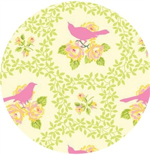Heather Bailey, Up Parasol, Mockingbird Pink