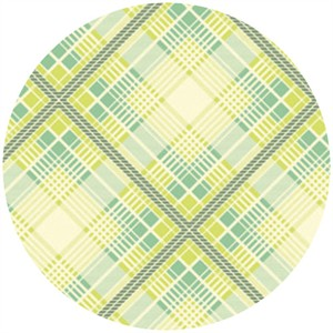Heather Bailey, Up Parasol, Summer Plaid Turquoise