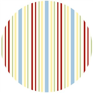 Henry Glass, Cottage Charm, Stripe Natural