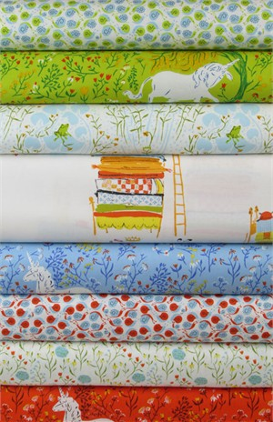 Heather Ross, Far Far Away, Mystical in FAT QUARTERS 7 Total