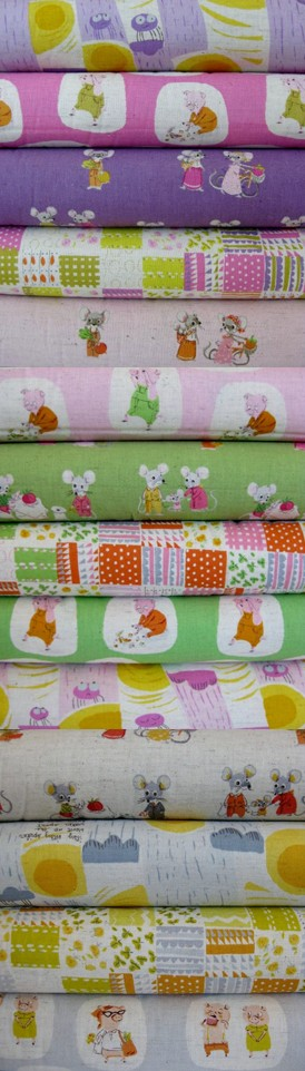 Heather Ross, Nursery Versery, Entire Collection in FAT QUARTERS 13 Total
