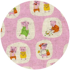 Heather Ross, Nursery Versery, Piggies Pink