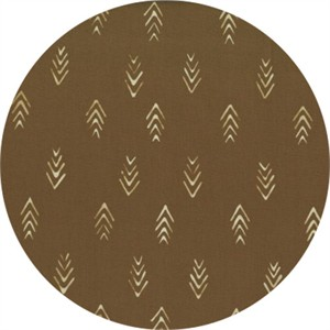Hoffman Fabrics, Indah BATIKS, Herringbone Coffee