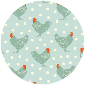 Henley Studio, Chicken and Egg, Hens Blue