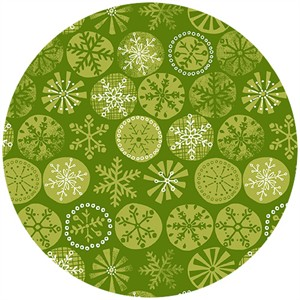 Henley Studio, Cool Yule, Snowflake Green