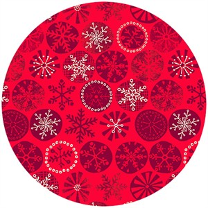 Henley Studio, Cool Yule, Snowflake Red