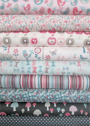Henley Studio, Flo's Garden, Dusk in FAT QUARTERS 9 Total