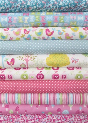 Henley Studio, Flo's Garden, Sunrise in FAT QUARTERS 10 Total