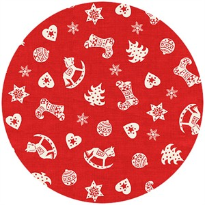 Henley Studio, Scandi Christmas, Scatter Red