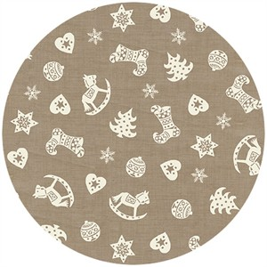 Henley Studio, Scandi Christmas, Scatter Taupe