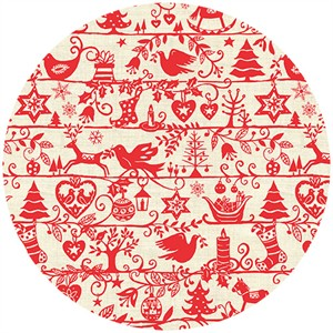 Henley Studio, Scandi Christmas, Silhouettes Cream