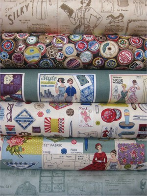 Henley Studios, Sew Retro in FAT QUARTERS 5 Total