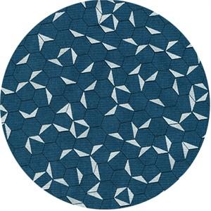 Jennifer Sampou for Robert Kaufman, Shimmer On, Hexagon Ocean