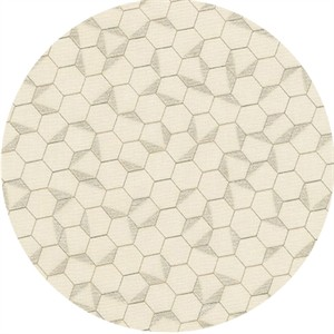 Jennifer Sampou for Robert Kaufman, Shimmer On, Hexagon Pearl