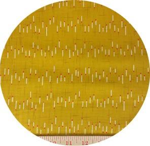 Hokkoh, DOBBY, Matchstick Stripe Yellow