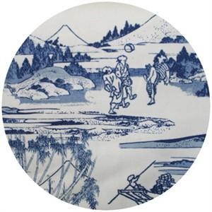 Hokusai, Hokusai Blue