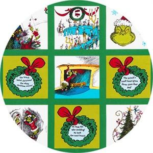 "Robert Kaufman, How The Grinch Stole Christmas 6, Holiday (23"" panel)"