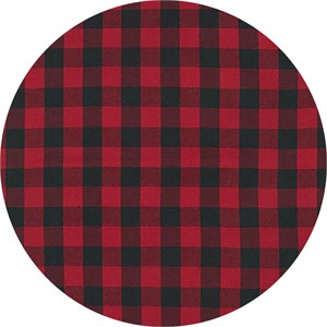 Robert Kaufman, House of Wales Plaids, TWILL, Red