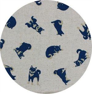 Japanese Import, CANVAS, Husky Pups Natural