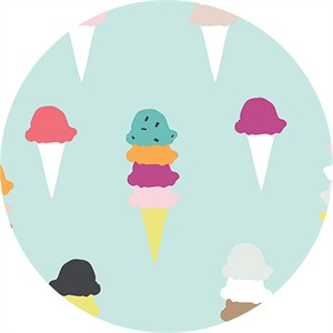 Dana Willard for Art Gallery, Boardwalk Delight, I Scream You Scream