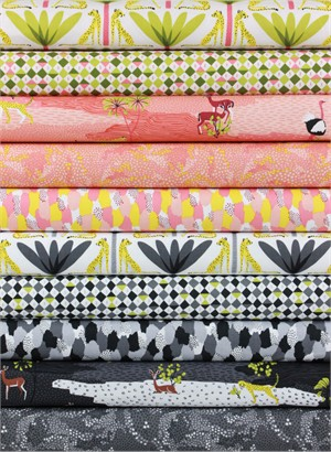 Katy Tanis for Blend, In the Sahara in FAT QUARTERS 9 Total