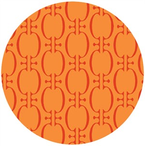 In The Beginning Fabrics, Bloom Modern, Bulb Orange