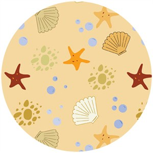 Insights Designs for Wilmington Prints, Sea Breeze, Starfish Sand