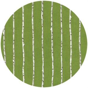 Ingrid Slyder for Moda, Forest Friends, Birch Tree Grass