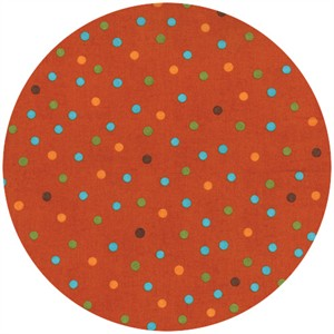 Ingrid Slyder for Moda, Forest Friends, Children�s Dots Fox Orange