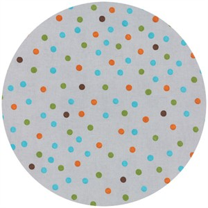 Ingrid Slyder for Moda, Forest Friends, Children's Dots Pebble