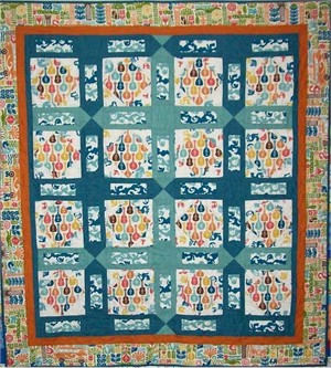 Ipanema Beat Quilt Kit