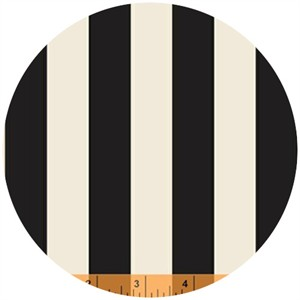 Iza Pearl Design for Windham, Hello Gorgeous, Stripe Black/Cream