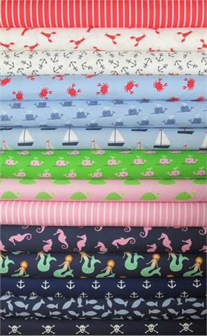 Jack and Lulu, Seaworthy in FAT QUARTERS 13 Total