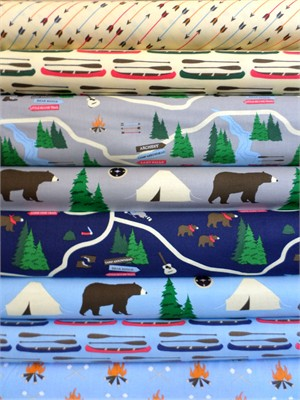 Jack and Lulu, Take A Hike in FAT QUARTERS 7 Total