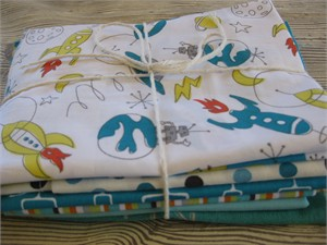 Japanese and/or Organic Scrap Pack - For Boys (2 Yards by Weight)
