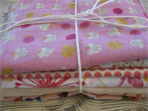 Japanese and/or Organic Scrap Pack - For Girls (2 Yards by Weight)