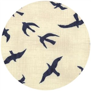 Janet Clare for Moda, Hearty Good Wishes, Seagulls Natural