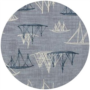 Janet Clare for Moda, Hearty Good Wishes, Ships Light Blue