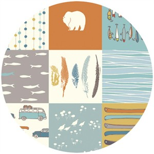 Jay-Cyn Designs for Birch Fabrics, Feather River, Feather River Patch