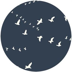 Jay-Cyn Designs for Birch Fabrics, The Grove, ORGANIC CANVAS, Flight Dusk