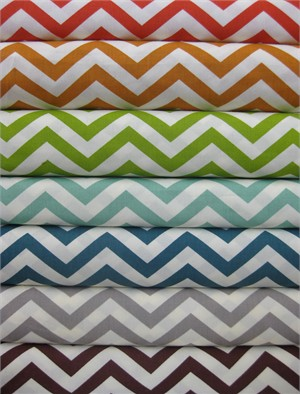 Jay-Cyn Designs for Birch Fabrics, Mod Basics 2, Skinny Chevron in FAT QUARTERS 6 Total