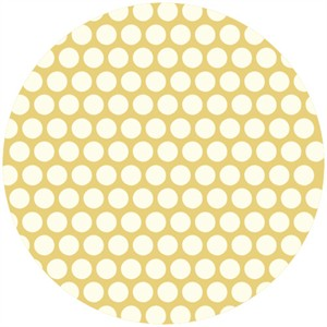 Jay-Cyn Designs for Birch Fabrics, Mod Basics, Organic, Dottie Cream Sun