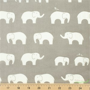 Jay-Cyn Designs for Birch Fabrics, Mod Basics, Organic, Ellie Fam Shroom