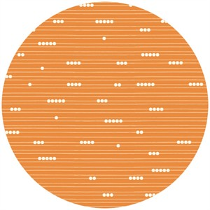 Jay-Cyn Designs for Birch Fabrics, Mod Basics, Organic, Abacus Orange