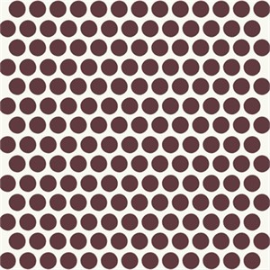 Jay-Cyn Designs for Birch Fabrics, Mod Basics, Dottie Color Mahogany